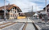 Bahnübergang Flamatt-Laupen
